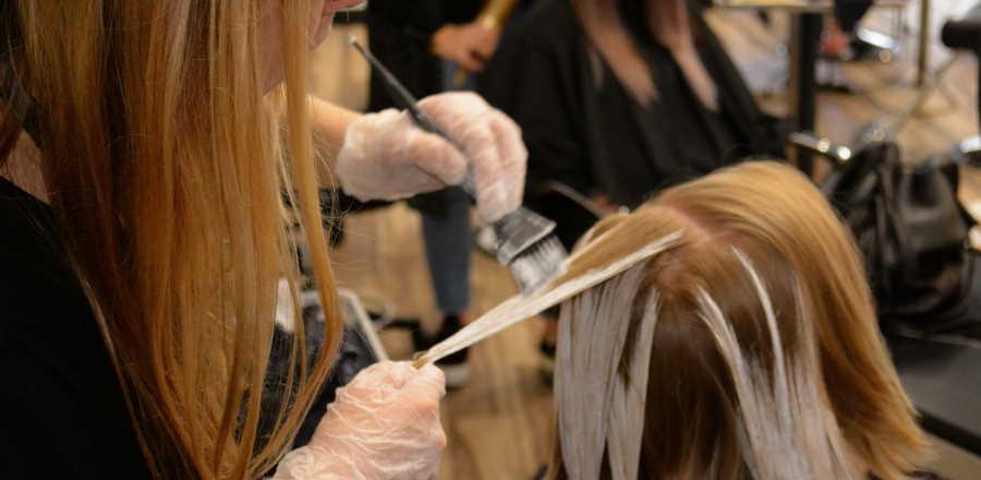 hair colour technique